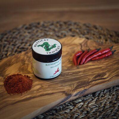 Domácí konopná mast s chilli - silně pálivá