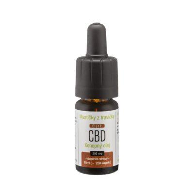 Konopný olej 5% CBD